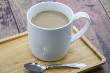 尿酸値を下げるには?2つの飲み物コーヒー牛乳とお茶(緑茶)比較_コーヒー牛乳_ホット