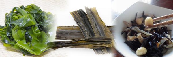 尿酸値を下げる食べ物はおすすめ料理メニュー・レシピ_尿酸値7~8~9以上_海藻類