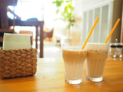 尿酸値を下げるには?2つの飲み物コーヒー牛乳とお茶(緑茶)比較_コーヒー牛乳_アイス
