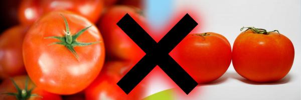 尿酸値を下げる食べ物としてトマトってどうなの?2つの真逆な意見_トマト×